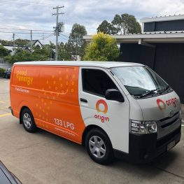 fleet wraps Brisbane