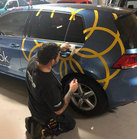 car wrappers brisbane installation