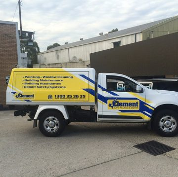 car wraps for a tradie