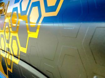 car decals Gold